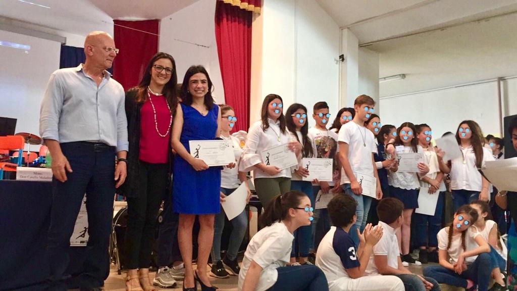 Premiazione degli alunni eccellenti I.C. Francesco di Capua 2_LI
